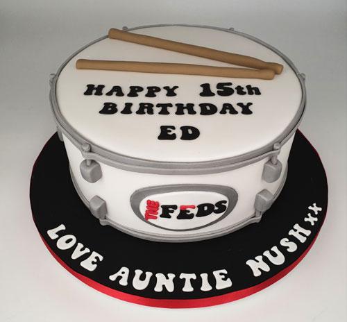 Drum-cake