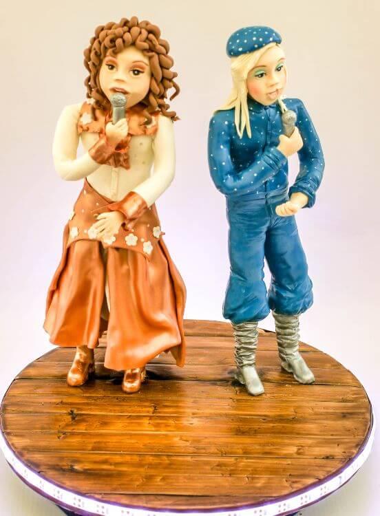 Abba figures cake international