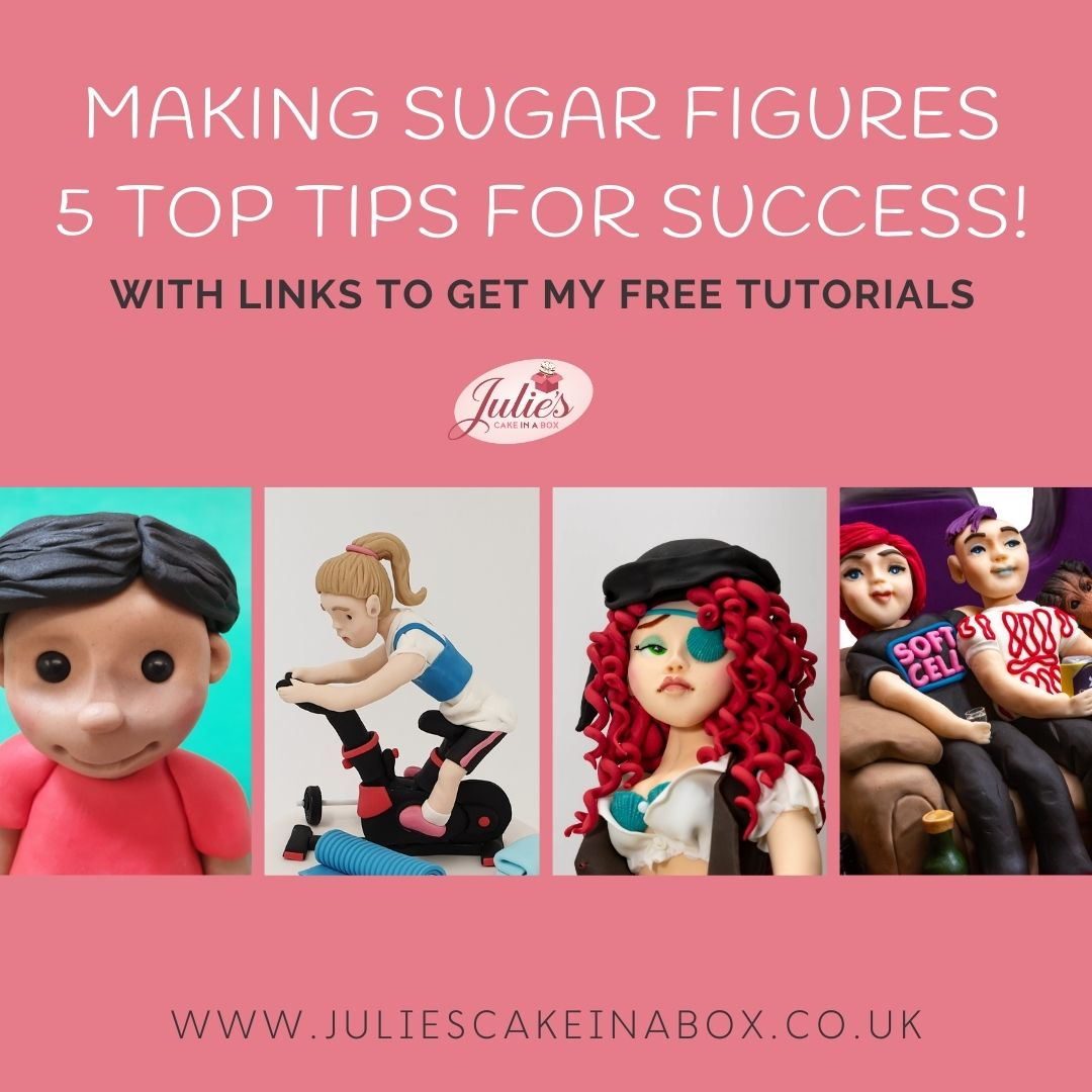 Making sugar figures - instagram