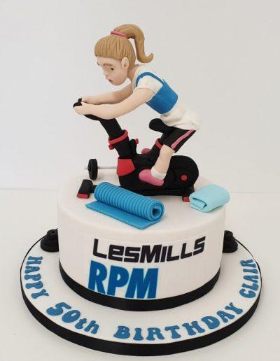 Spinning Cycle cake