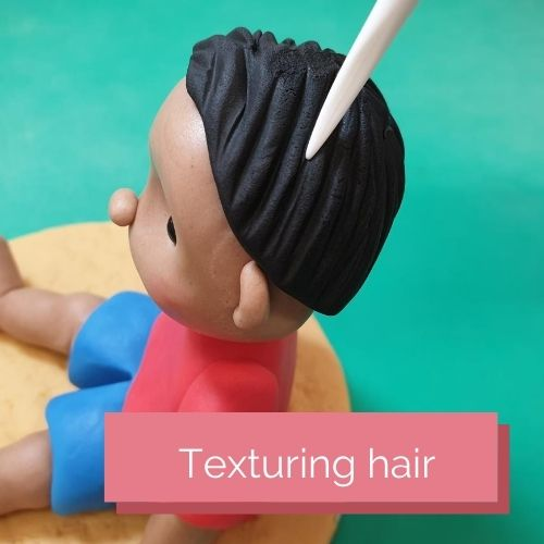 Texturing hair
