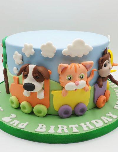 Animal-train-birthday-cake-east-yorkshire