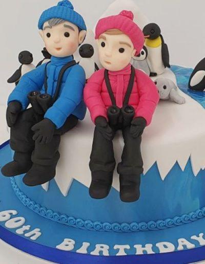 Antartica-polar-explorer-themed-birthday-cake
