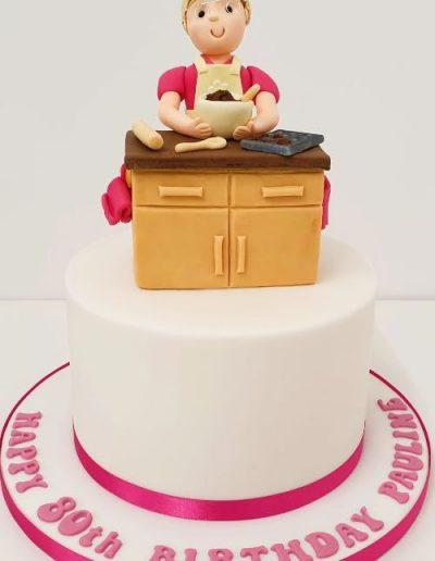 Baking-themed-birthday-cake