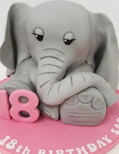 Elephant-carved-cake-East-Yorkshire