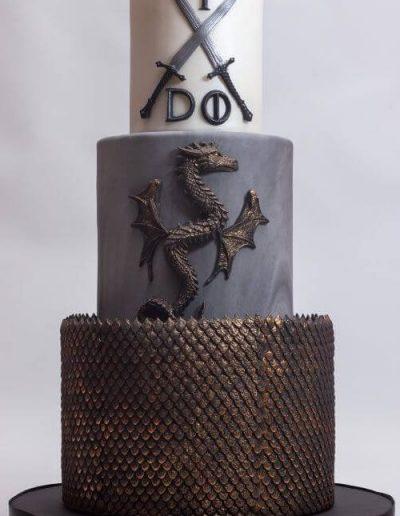 Fantasy-dragon-wedding-cake-East-Yorkshire