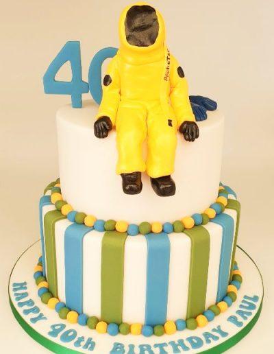 Hazmat-chemical-suit-40th-birthday-cake