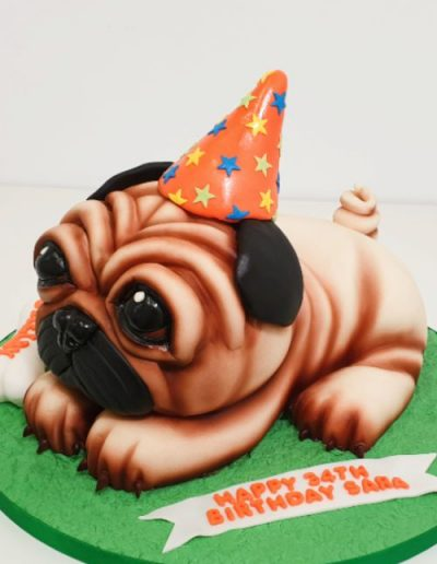 Pug-carved-birthday-cake-East-Yorkshire