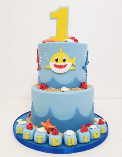 Shark-themed-birthday-cake-east-yorkshire