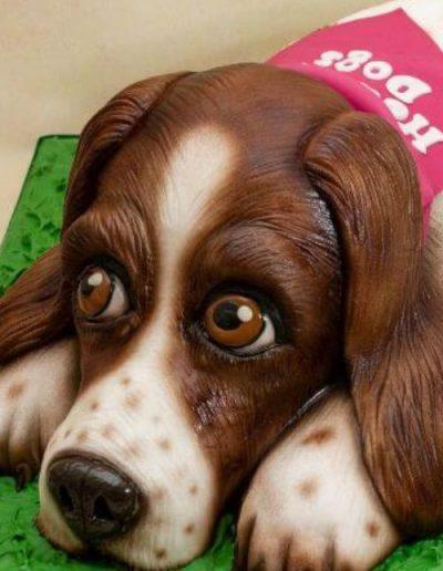 Springer-Spaniel-carved-dog-cake