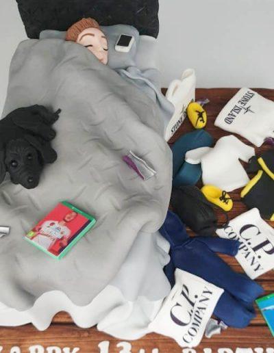Teenager-messy-bedroom-cake-east-yorkshire