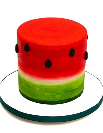 Watermelon-birthday-cake-east-yorkshire