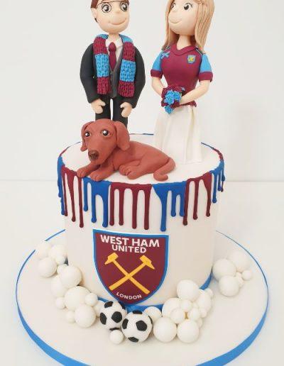 West-Ham-Wedding-Cake-East-Yorkshire